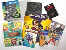 July 2015 Heroes 2 Lootcrate Batman Zelda All Items