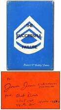 Robert P Bobby DEWS / The Successful Failure Signed 1st Edition 1970