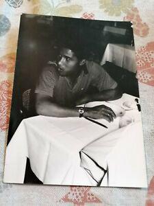 EUSEBIO AT DINNER IN ZGAREB, HOTEL PALACE, 1970, ORIGINAL PHOTO