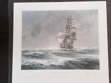 """John Stobart  """"St. Mary Approaching Cape Horn""""  HAND S/N by Artist!"""