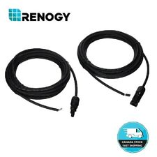 20ft 12AWG Adaptor Cable MC4 Connector Connects Solar Panel & Charge Controller