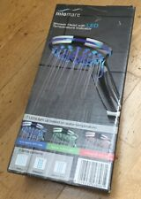 MIOMARE Replacement 21mm Shower Head w LED Temperature Indicator Free P&P - NEW