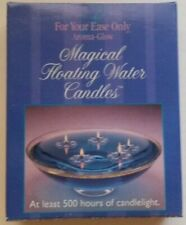 Magical Floating Water Candles, Blue Coloring New Free Shipping