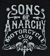T-SHIRT L LARGE SONS OF ANARCHY MOTORCYCLE CLUB BIKER GANG SHIRT