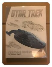 Star Trek Official Starship Collection: Designing Starships Vol. 2 Hardback Book