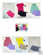 NWT Girls Ralph Lauren LOT 4 4T Shirt Shorts Oxford NEW Clothes Outfit Set 10pc