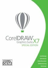 Corel DRAW Graphics Suite X7 Special Edition OEM DVD-Box Vollversion Deutsch NEU