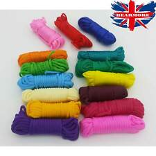 Parachute Paracord Cord Assorted Pack 15 Colored Survival Camping Tent Guidline