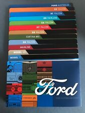 2017 Ford Australia 12 Dividers and History Booklet for 50c coins