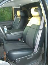 Clazzio Leatherette Custom Seat Covers for Chevy Silverado 2014-2016 Double Cab
