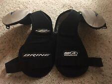 RARE & VINTAGE! Brine Lacrosse SP 4 Shoulder Pads STX Warrior CCM Bauer Sz Lrg
