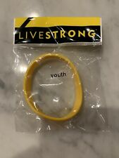 Nike LIVESTRONG Yellow Silicone Bracelet Wristband Youth Size Lance Armstrong