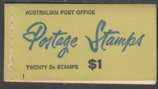 Australia 1967 5c on 4c Red QE II Ed. G 67/3 Booklet ($1.00) - B121Ae