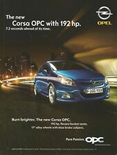OPEL CORSA OPC with 192 hp. Print Ad # 102 2