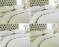 HOTEL QUALITY 100%EGYPTIAN COTTON DUVET COVER 200 THREAD COUNT QUILT BEDDING SET