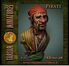 TARTAR MIN. TRB160-28 Pirate  busto scala 1/11