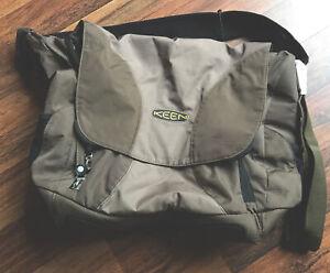 Keen Shoulder Messenger Bag Brown Extra Large