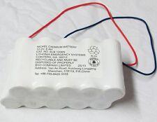 Lithona Lighting ELB 1208N 12V 8AH Nickel Cadmium Battery