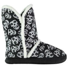 IRON FIST SNUG LADIES BOOTIE SLIPPERS – MISFIT - BLACK AND WHITE – SIZE 5 - BNWT