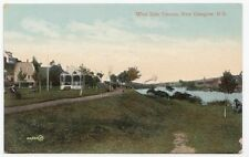 West Side Terrace NEW GLASGOW Nova Scotia Canada 1907-15 Valentine & Sons