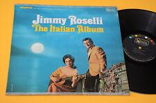 JIMMY ROSELLI LP ITALIAN ALBUM 1°ST ORIG USA ANNI '60 EX
