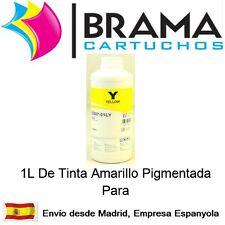 1 LITRO DE TINTA AMARILLO PIGMENTADA NONOEM EPSON T0711,  T1291 T1281 Sx425 611