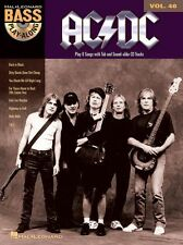 Bass Play-Along Learn to Play AC/DC Back in Black Guitar Music Book & CD