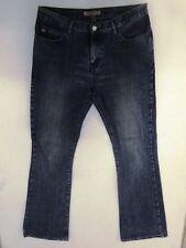Miss Sixty Basic Jeans Hose Schlaghose Dunkelblau Stonewashed W32 L34