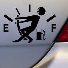 Black High Gas Consumption Style Car Auto Body Door DIY Sticker Accessories syt