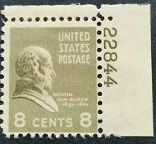 U.S.A. 1938. #813. PL.SINGLE. MM.