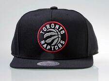 Toronto Raptors Mitchell & Ness Current Logo Solid HWC Wool Snapback Hat Cap NBA