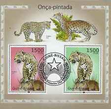 Timbres Félins Jaguars Guinée Bissau BF539 o année 2010 lot 19125 - cote : 16 €