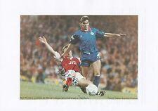 Lee Dixon Arsenal 1987-2002 revista original firmada a mano de corte