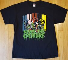 NAME THE CREATURE shirt XL heavy metal black power rangers monster zombie gore