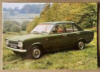 1973 Ford Escort original New Zealand sales brochure