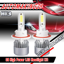 H13 LED Headlight Bulbs for Ford F-150 2004-2014 F-250 2011-2015 High Low Beams