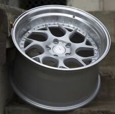 Aodhan DS01 18x9.5 18x10.5 +15 5x114.3 Silver Staggered (Set of 4)