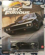 Hot Wheels 2020 Fast & Furious Full Force #3 '71 Plymouth Gtx