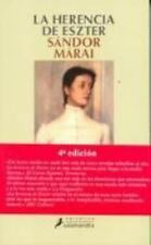 LA Herencia De Eszter / Esther's Inheritance (Narrativa) (Spanish Edition)
