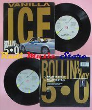LP 45 7'' VANILLA ICE Rollin in my 5.0 1991 SBK 17 no cd mc dvd