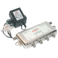 Eagle Aspen SHN24-Kit Amplified 4-Way Splitter Combiner CATV Off-Air UHF 500183