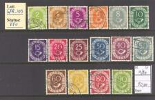 GER_102 - GERMANY.  1951 commemorative set. Used