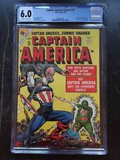 CAPTAIN AMERICA COMICS #78 CGC FN 6.0; OW-W; Human Torch, Toro app; Last issue!