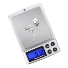Digital Pocket Scale 1000gx0.1g Gram Jewelry 6 Weigh Options LCD Backlit Display