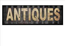 Vintage Shop sign Antique Shop Sign Reproduction Vintage Sign Old Style Sign