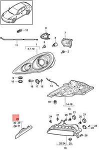 Genuine PORSCHE Panamera 970 Side Marker Light Right 97063103800