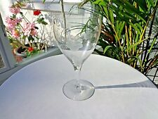 Tiffin Franciscan Windswept Rose Crystal Water Glass