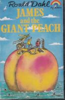 Roald Dahl James And The Giant Peach Cassette Audio Book Drama Music Sound