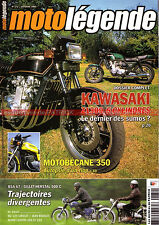 MOTO LEGENDE 172 KAWASAKI Z1300 MOTOBECANE 350 BSA A7 MZ 125 GILLET HERSTAL 500