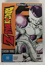 DRAGON BALL Z Season 3 Remastered R4 PAL 6-DVD Set oz seller DBZ Goku Anime